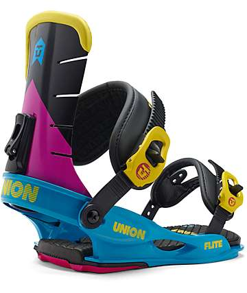 Union Flight CMYK Snowboard Bindings