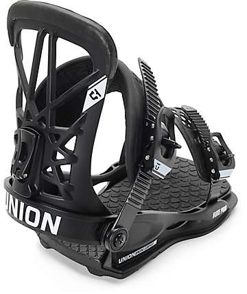 Union Flight Pro Black Snowboard Bindings