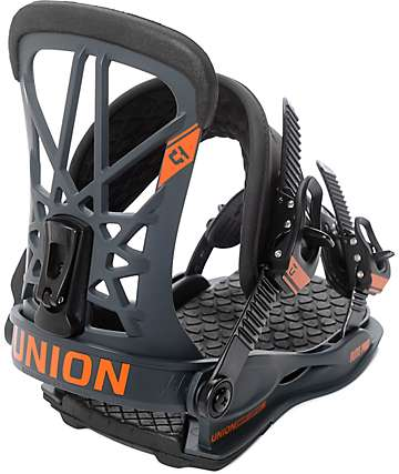 Union Flite Pro Dark Grey Snowboard Bindings