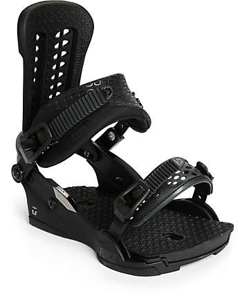 Union Force Snowboard Black Bindings