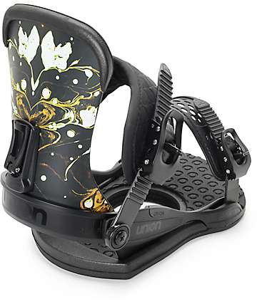 Union Milan Black Womens Snowboard Bindings