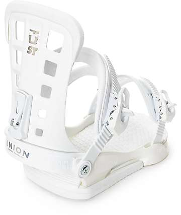 Union ST White Snowboard Bindings