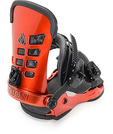Union T-Rice Metallic Red Snowboard Bindings