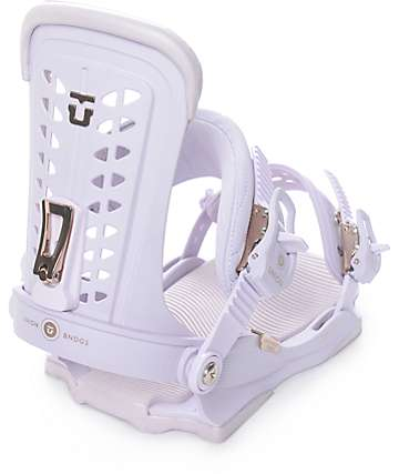 Union Womens Trilogy Lavender Snowboard Bindings