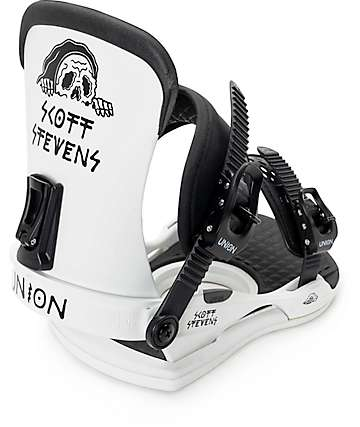 Union x Sketchy Tank Contact Scott Stevens Snowboard Bindings