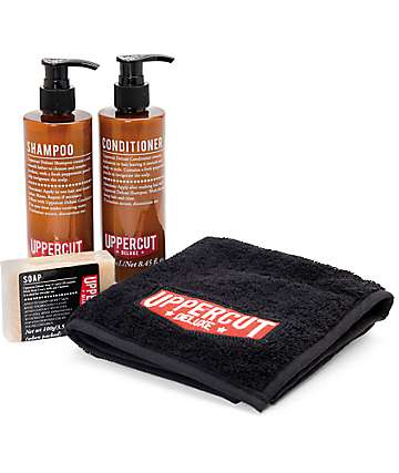 Uppercut 4 Piece Shower Kit