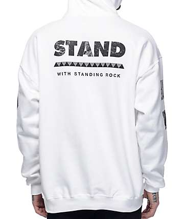 VSOP Akomplice Standing Rock White Hoodie