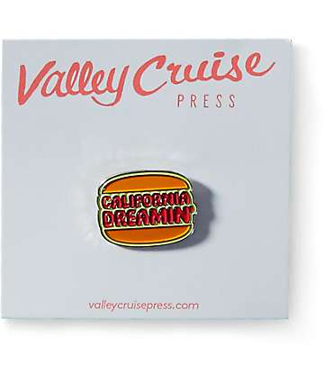 Valley Cruise Press California Dreamin Lapel Pin