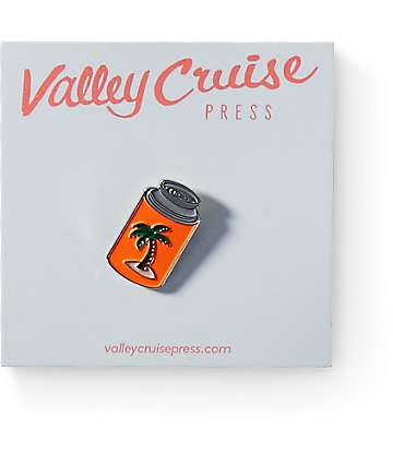 Valley Cruise Press Chill Coozy Lapel Pin
