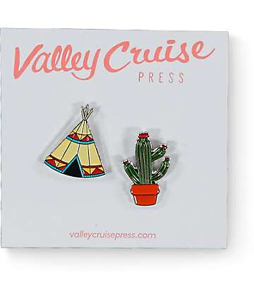 Valley Cruise Press Desert Lapel Pin Pack