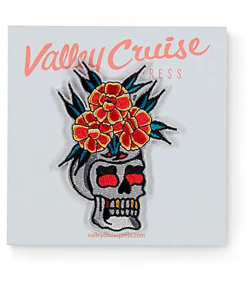 Valley Cruise Press Skull Vase Patch