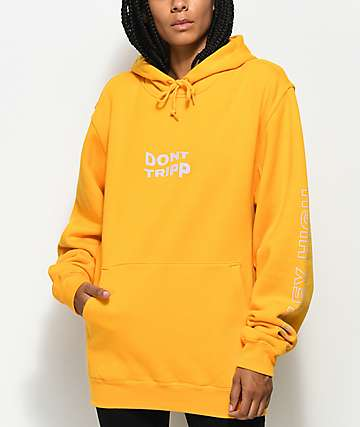 Valley High Don't Tripp Gold Pullover Hoodie