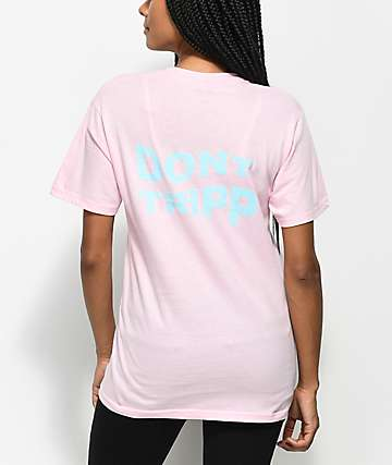 Valley High Don't Tripp camiseta rosa