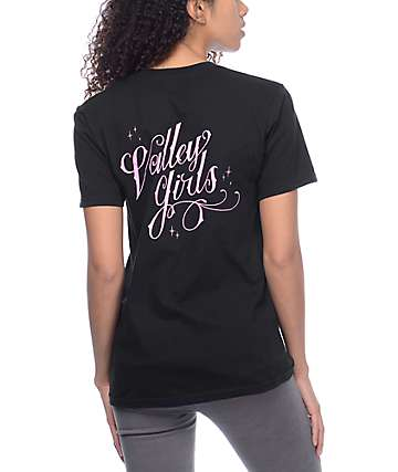 Valley High Girls Black T-Shirt