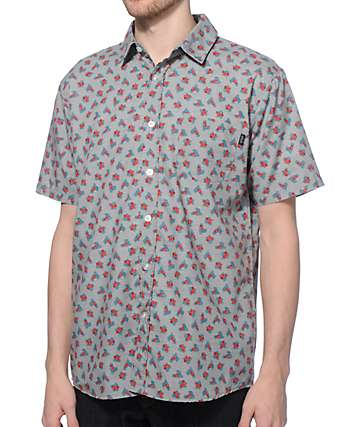 Valor Tucci Floral Button Up Shirt