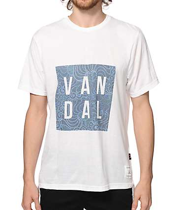 Vandal Paisley Clouds T-Shirt