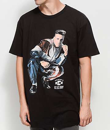Vanilla Ice Squat Black T-Shirt