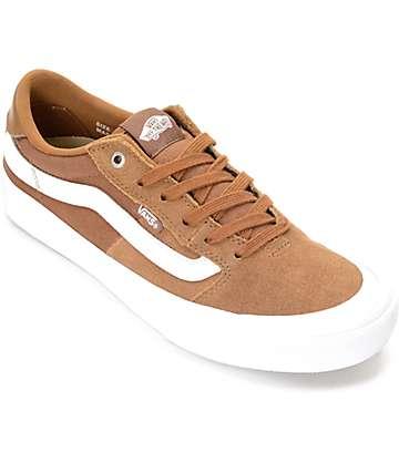 Vans 112 Pro  zapatos en marrón y blanco