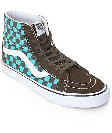 Vans 50th Sk8-Hi Reissue Pro Ceramic Checkerboard Skate Shoes