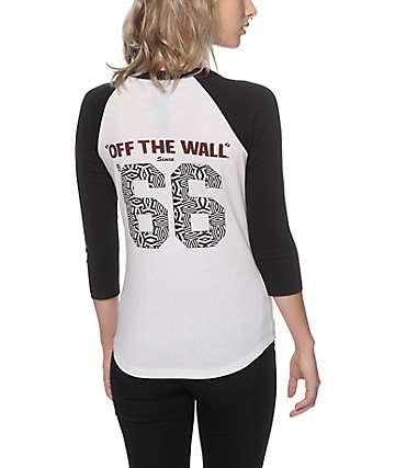 Vans 66 Geo Baseball Tee