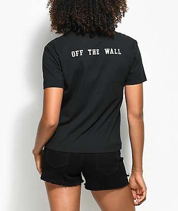 Vans Aerial OTW camiseta negra con bolsillo