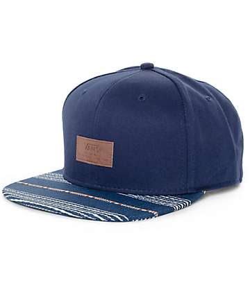 Vans All Over It Blue Snapback Hat