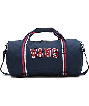 Vans Anacapa II Blue & Red Duffel Bag