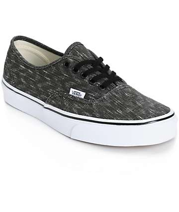 Vans Authentic Denim Chevron Shoes (Womens)