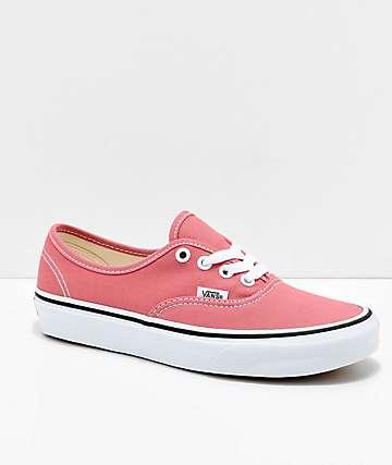 Vans Authentic Faded Rose zapatos de skate en rosa descolorido y blanco