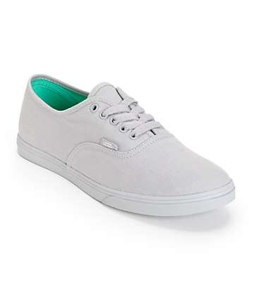 Vans Authentic Lo Pro Monotone Sleet Shoes (Womens)