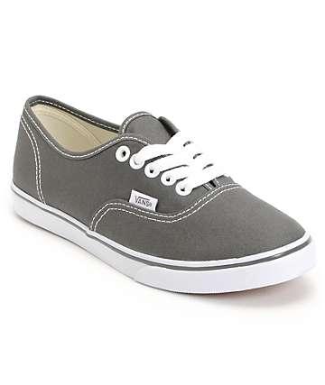 Vans Authentic Lo Pro Pewter Shoe