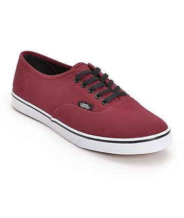 Vans Authentic Lo Pro Tawny Port Shoes (Womens)