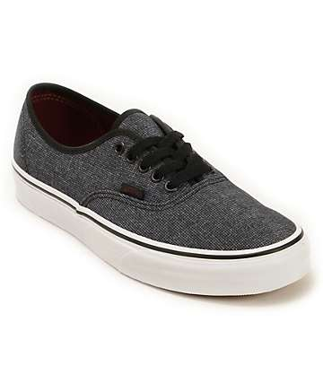 Vans Authentic Micro Grid Skate Shoes (Mens)