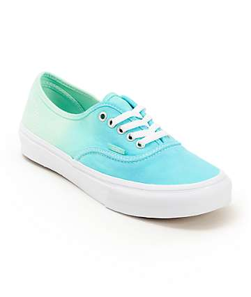Vans Authentic Mint Ombre Shoes (Womens)