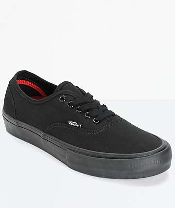 Vans Authentic Pro Mono Skate Shoes