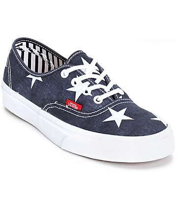 Vans Authentic Stars & Stripes Shoes (Womens)