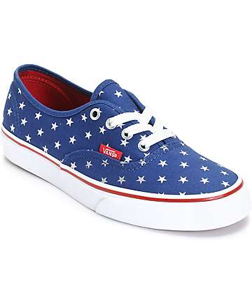 Vans Authentic Studded Star Shoes (Womens)