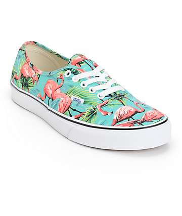 Vans Authentic Van Doren Flamingo Skate Shoes (Mens)
