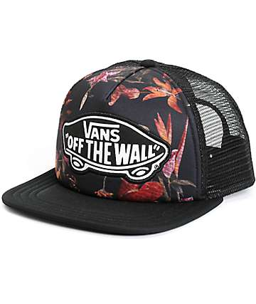 Vans Beach Girl Death Bloom Trucker Hat