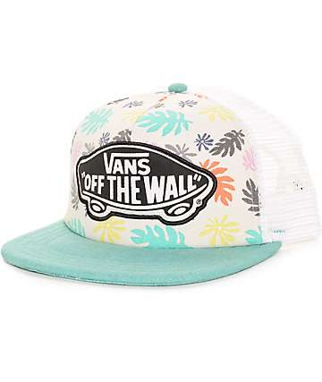 Vans Beach Girl Multi & White Trucker Hat