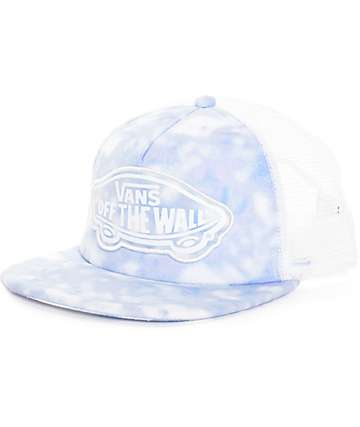 Vans Beach Girl Tie Dye Palace Blue Trucker Hat
