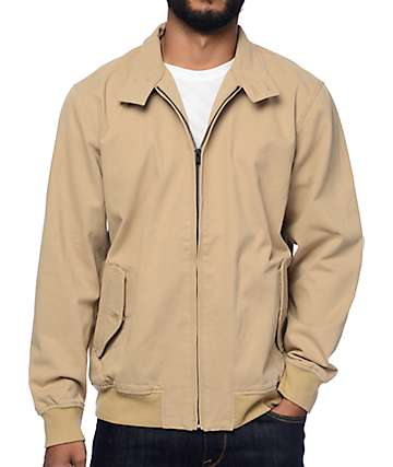 Vans Belfair Harrington Khaki Jacket