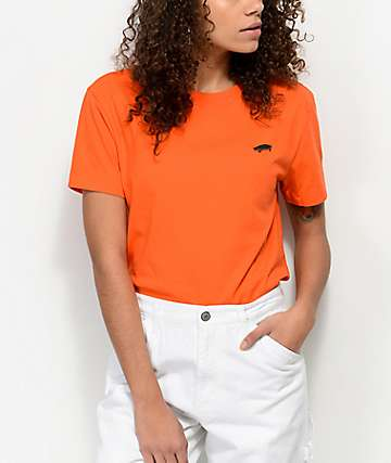 Vans Boulder Orange Boxy T-Shirt
