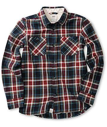 Vans Boys Birch Flannel Shirt