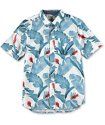 Vans Boys Bonsai Woven Button Up Shirt