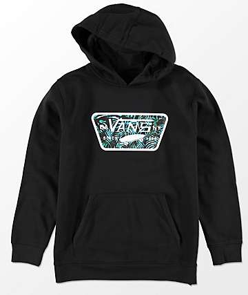 Vans Boys Full Patch Fill Black Hoodie