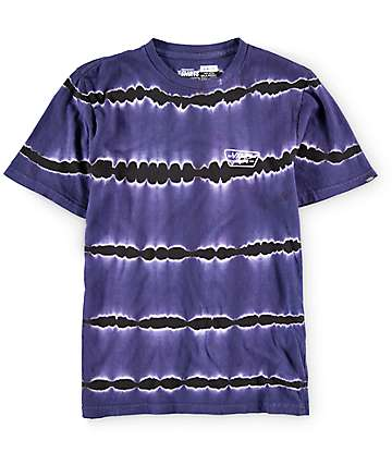 Vans Boys Full Patch Tie Dye T-Shirt