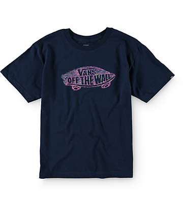 Vans Boys Fused Off The Wall T-Shirt
