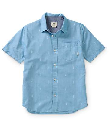 Vans Boys Houser Button Up Shirt