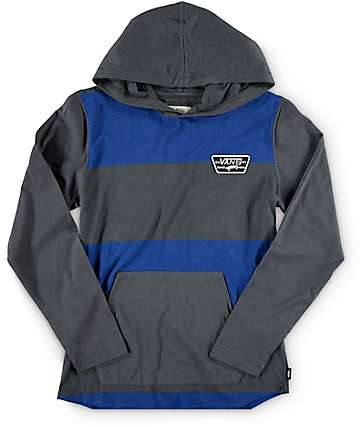 Vans Boys Milner Hooded Shirt